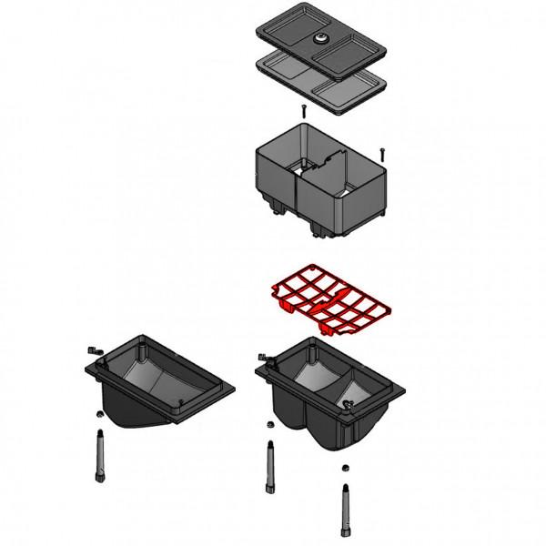 Fingerschutz Pulverbehälter