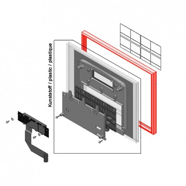 Glasschutzrahmen MVQ für Vetro