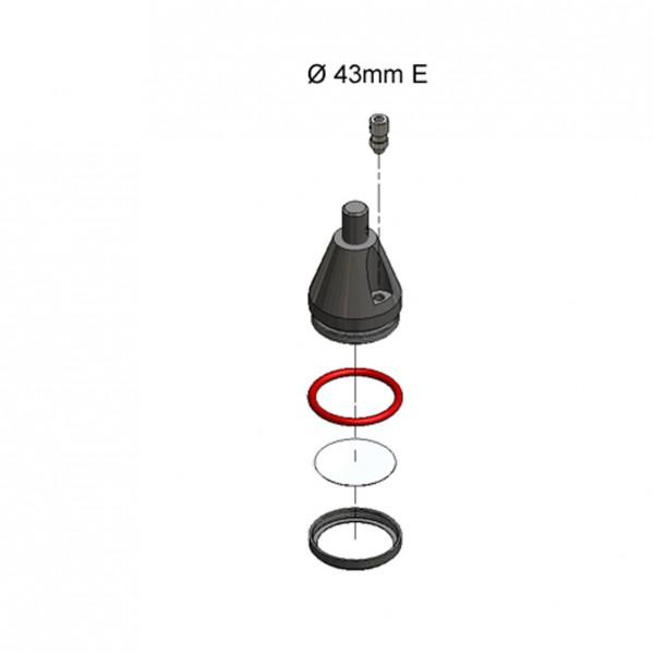 O-Ring 35,5x3,65 MVQ
