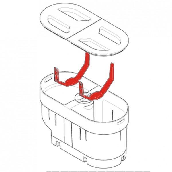 Kappe für Bohnenbehälter